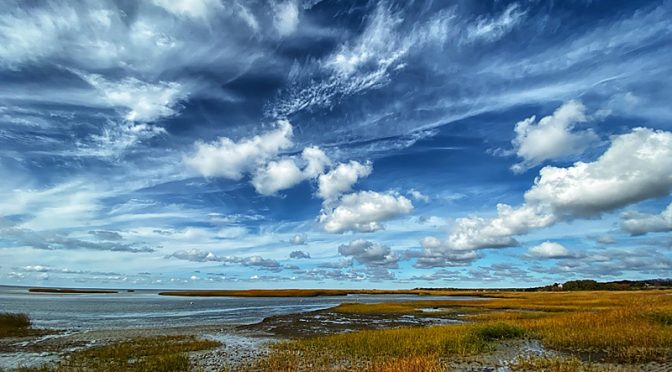 Amazing Clouds At Boat Meadow Beach On Cape Cod!