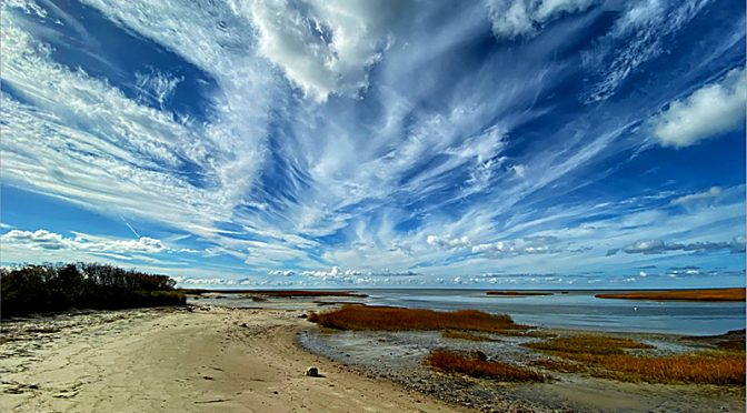 Gorgeous Skies At Boat Meadow Beach On Cape Cod!