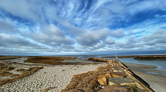 Spectacular Clouds Over Rock Harbor On Cape Cod!