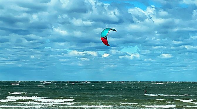 Awesome Kite Surfing At First Encounter Beach On Cape Cod!