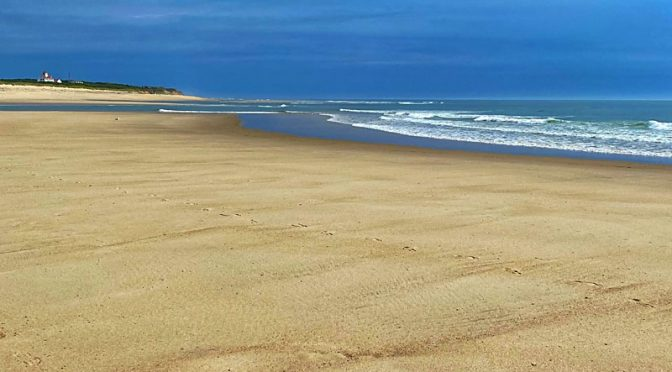 Where Is All The Sand On Coast Guard Beach on Cape Cod?