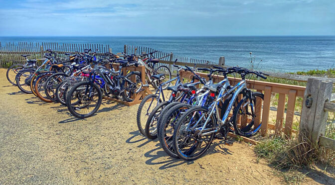 Biking Is Very Popular on Cape Cod This Summer!