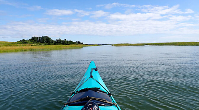 Love Our Kayaks On Nauset Marsh on Cape Cod!