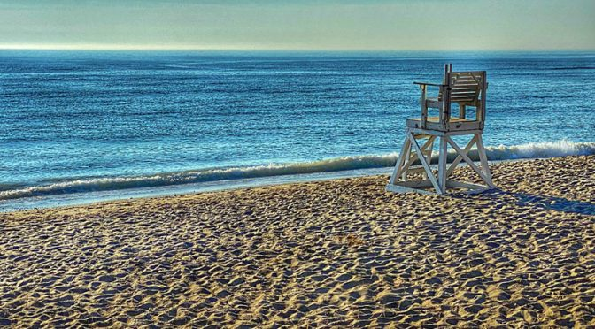 Early Morning Serenity On Coast Guard Beach On Cape Cod.
