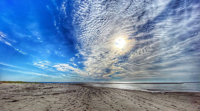 Gorgeous Sky At Coast Guard Beach On Cape Cod!