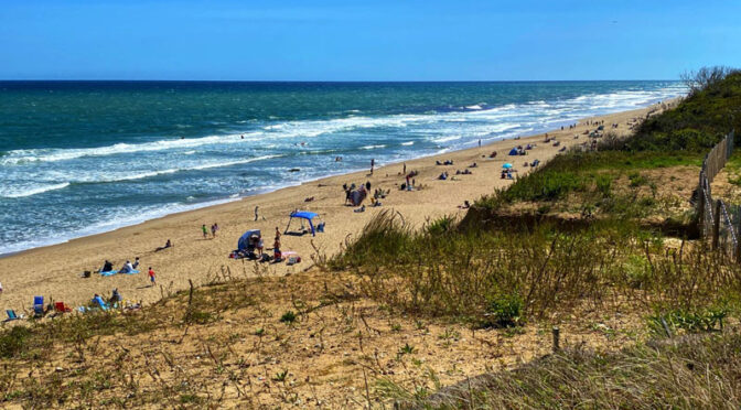 Nauset Light Beach On Cape Cod Was Still Pretty Busy This Weekend.