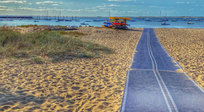 Early Morning At Provincetown Harbor On Cape Cod.