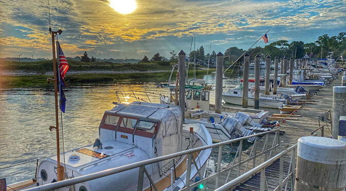 Early Morn At Rock Harbor On Cape Cod.