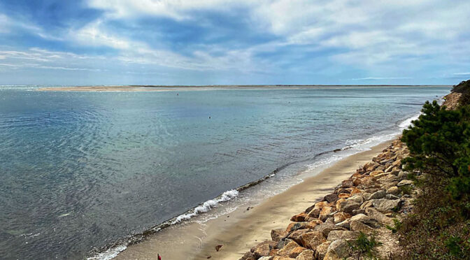 High Tide At Morris Island In Chatham On Cape Cod.