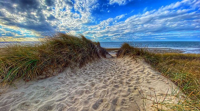Love The Sky At First Encounter Beach On Cape Cod!