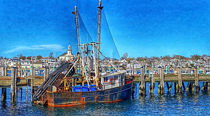 Going Fishing In Provincetown On Cape Cod.
