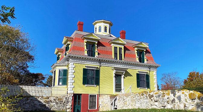 The Captain Penniman House On Cape Cod.