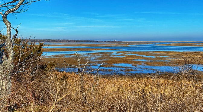 High Tide At Nauset Marsh On Cape Cod.