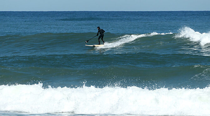 Lots Of Paddle-Surfers Yesterday At Coast Guard Beach On Cape Cod!