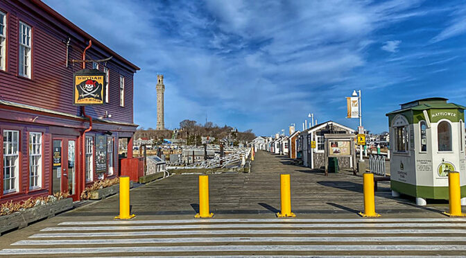 The Docks In Provincetown On Cape Cod.