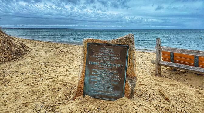 First Encounter Beach On Cape Cod.