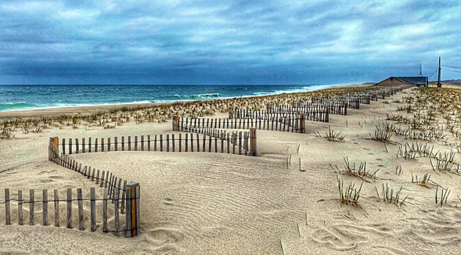 From Then Until Now On Nauset Beach On Cape Cod.