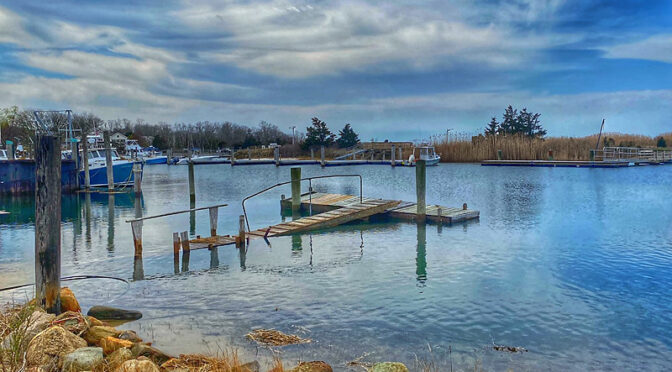 High Tide At Rock Harbor On Cape Cod.