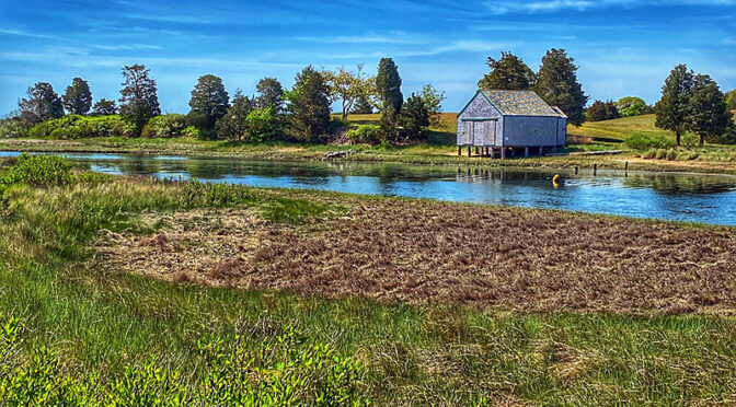 Love The Boathouse On The Salt Pond River On Cape Cod.