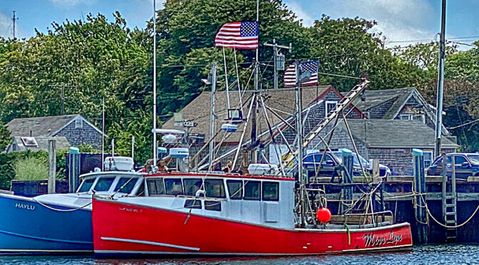 Happy July 4th From Rock Harbor On Cape Cod!