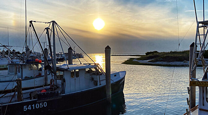 Almost Sunset At Rock Harbor On Cape C0d.