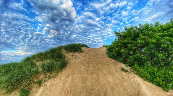 Gorgeous Clouds At First Encounter Beach On Cape Cod.