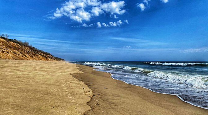 Gorgeous Day At Nauset Light Beach On Cape Cod.