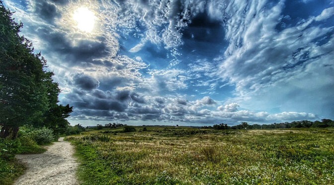 Spectacular Clouds At Fort Hill On Cape Cod!