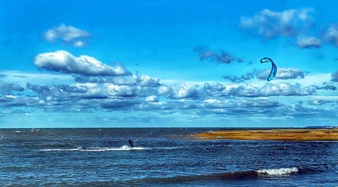 Great Kite-Surfing Weather On Cape Cod!